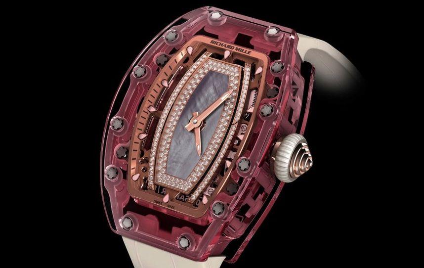 Richard Mille RM 07-02 Pink Lady Sapphire