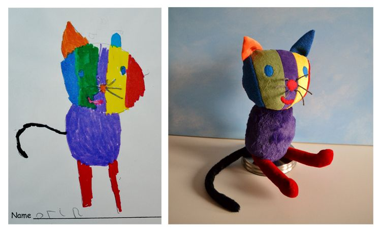 childrens toys from drawings