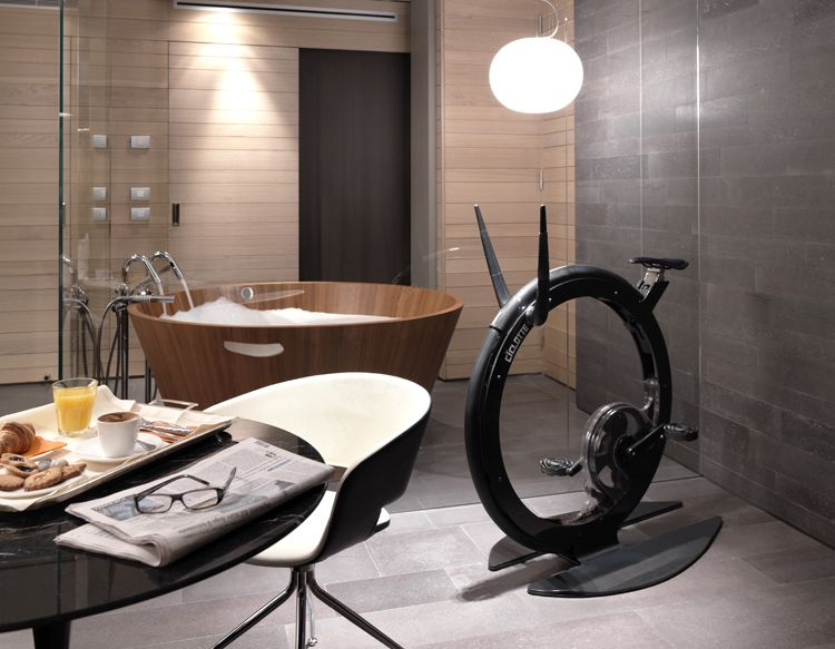 Ciclotte's Unicycle Design Aims to Redefine the Luxury Exercise