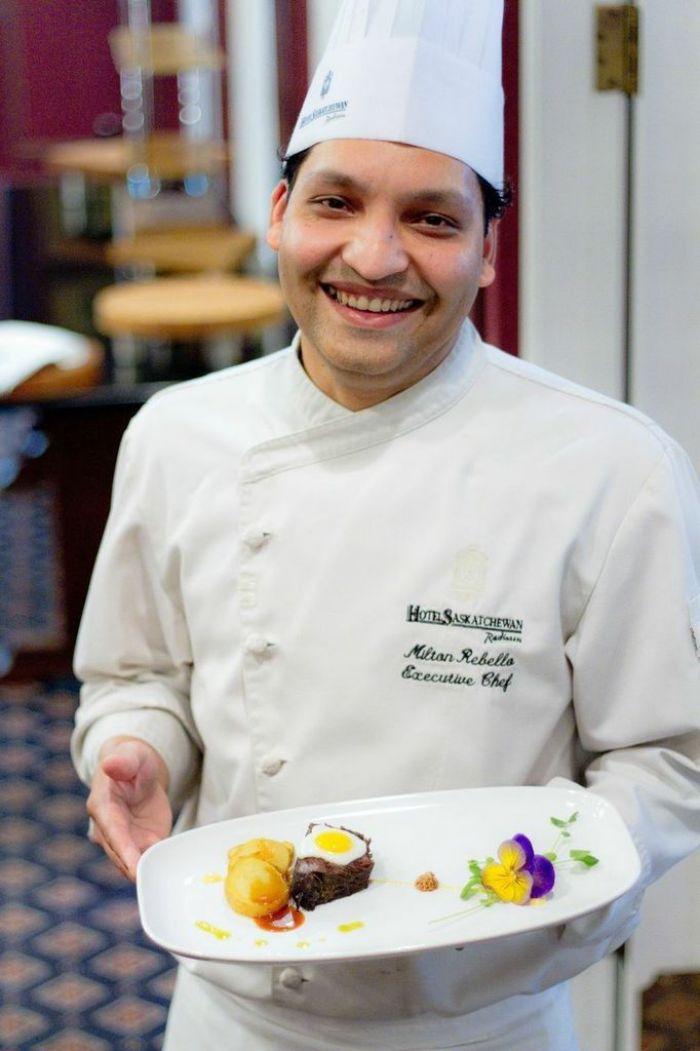 Executive Chef, Milton Rebello