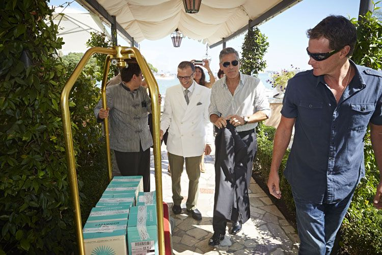 Try George Clooney's Casamigos Tequila at Hotel Cipriani in Ven