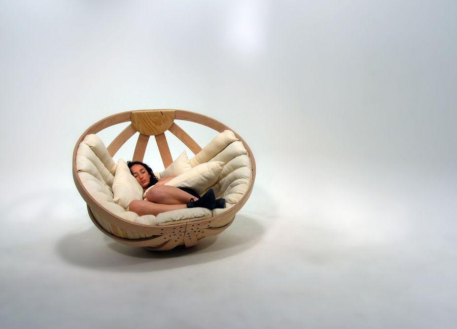 Richard Clarkson Studio, cradle, rocking chair