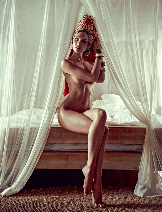Candice Swanepoel Vogue Brazil