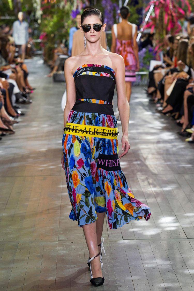 Dior RTW spring 2014 runway show