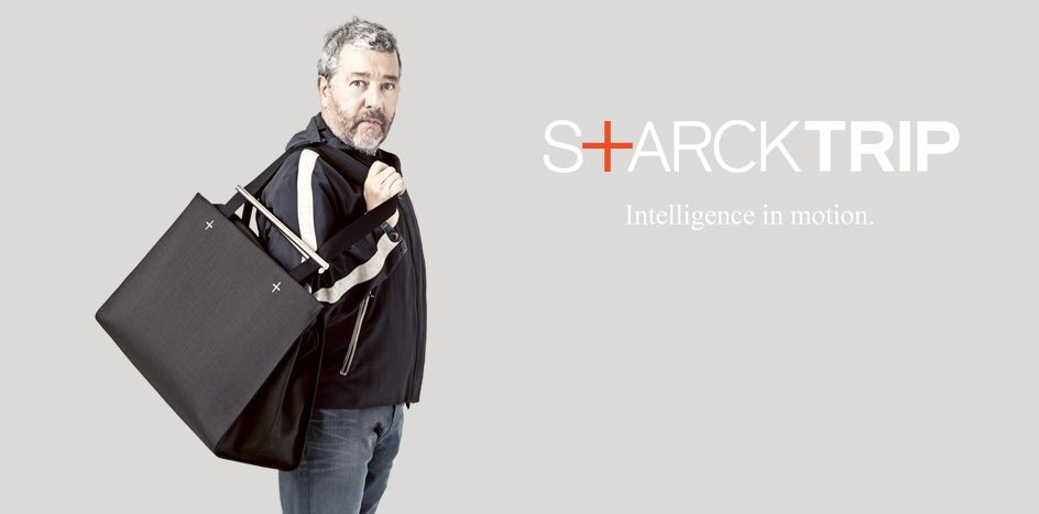 Delsey Paris, Philippe Starck, starcktrip, luggage