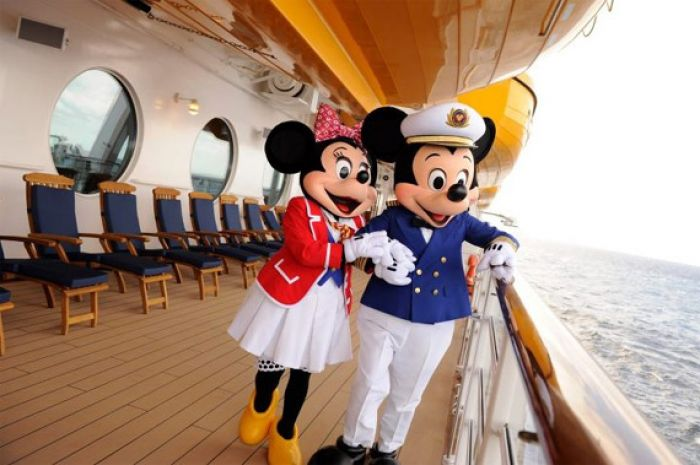 Disney Cruise Ship Docks In San Diego For The First Time