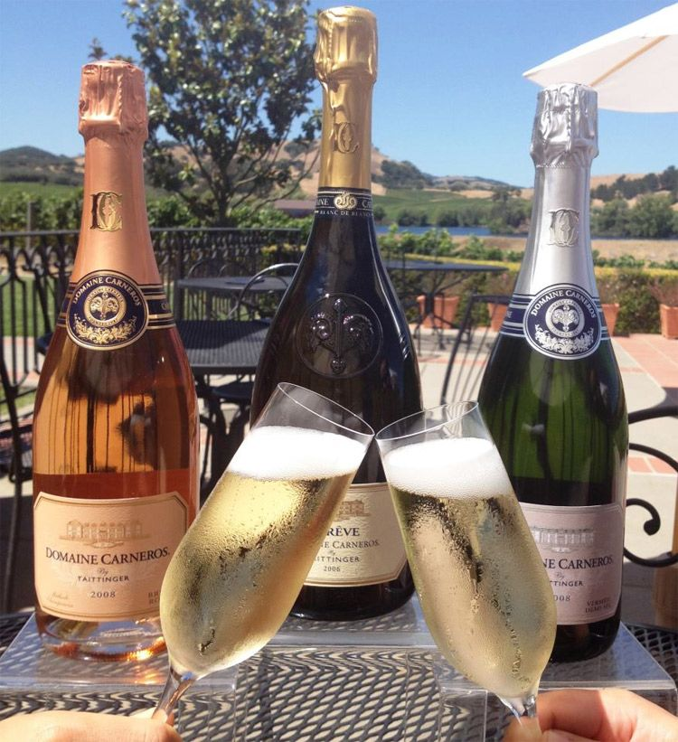 Domaine Carneros champagnes