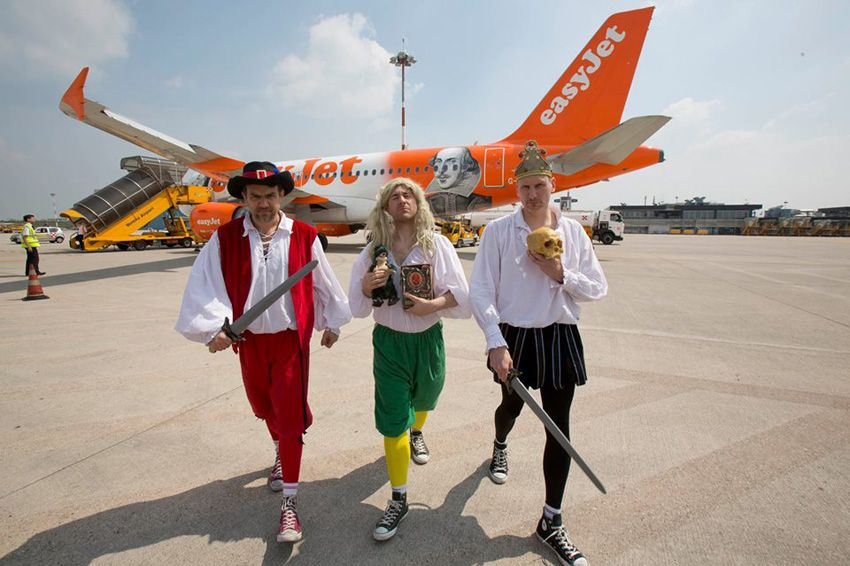 easyjet shakespeare day