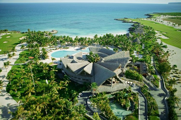 Eden Roc at Cap Cana aerial view