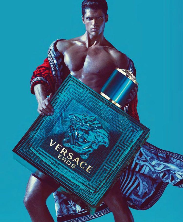Versace Eros Campaign