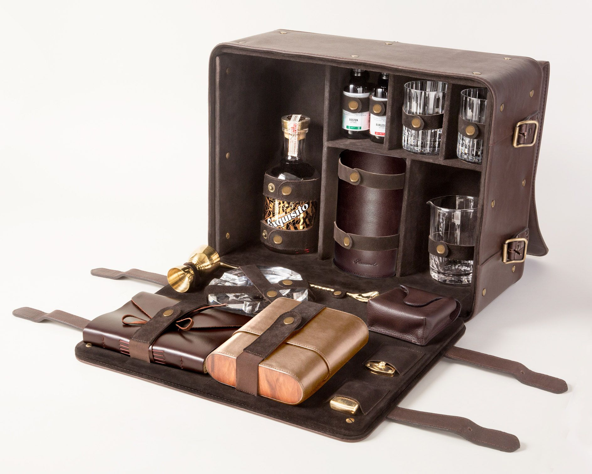 5 000 facundo elevated holiday gift set brings on the rum for High end gifts for women