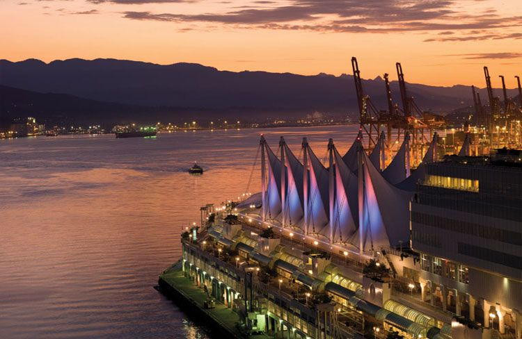 canada place harbor view