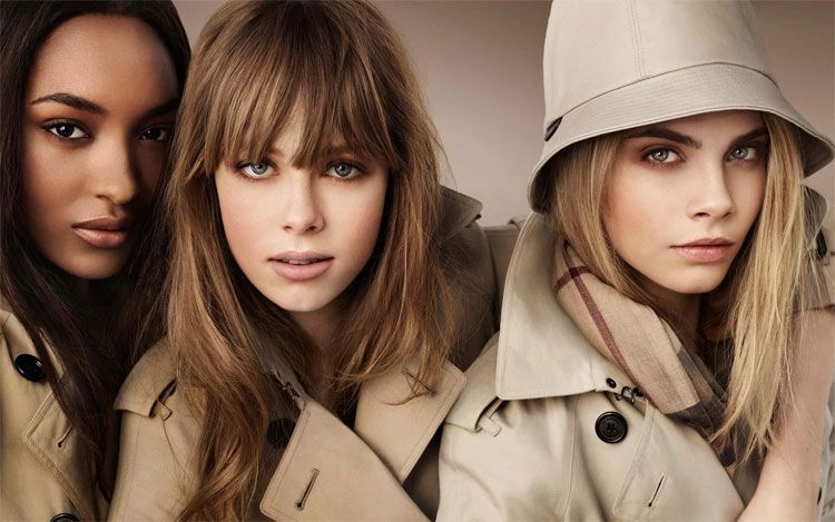 Burberry Beauty Campaign Fall 2012