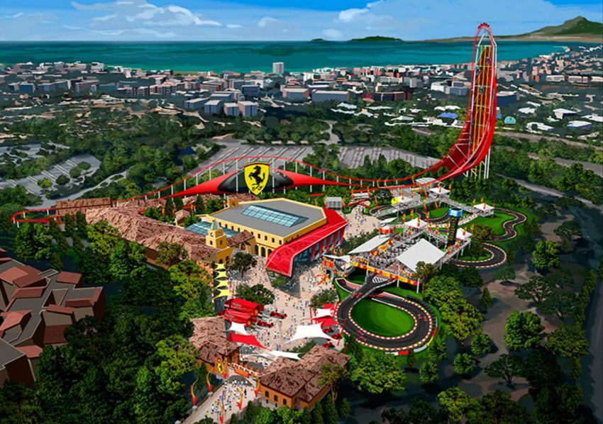 ferrari land amusement park