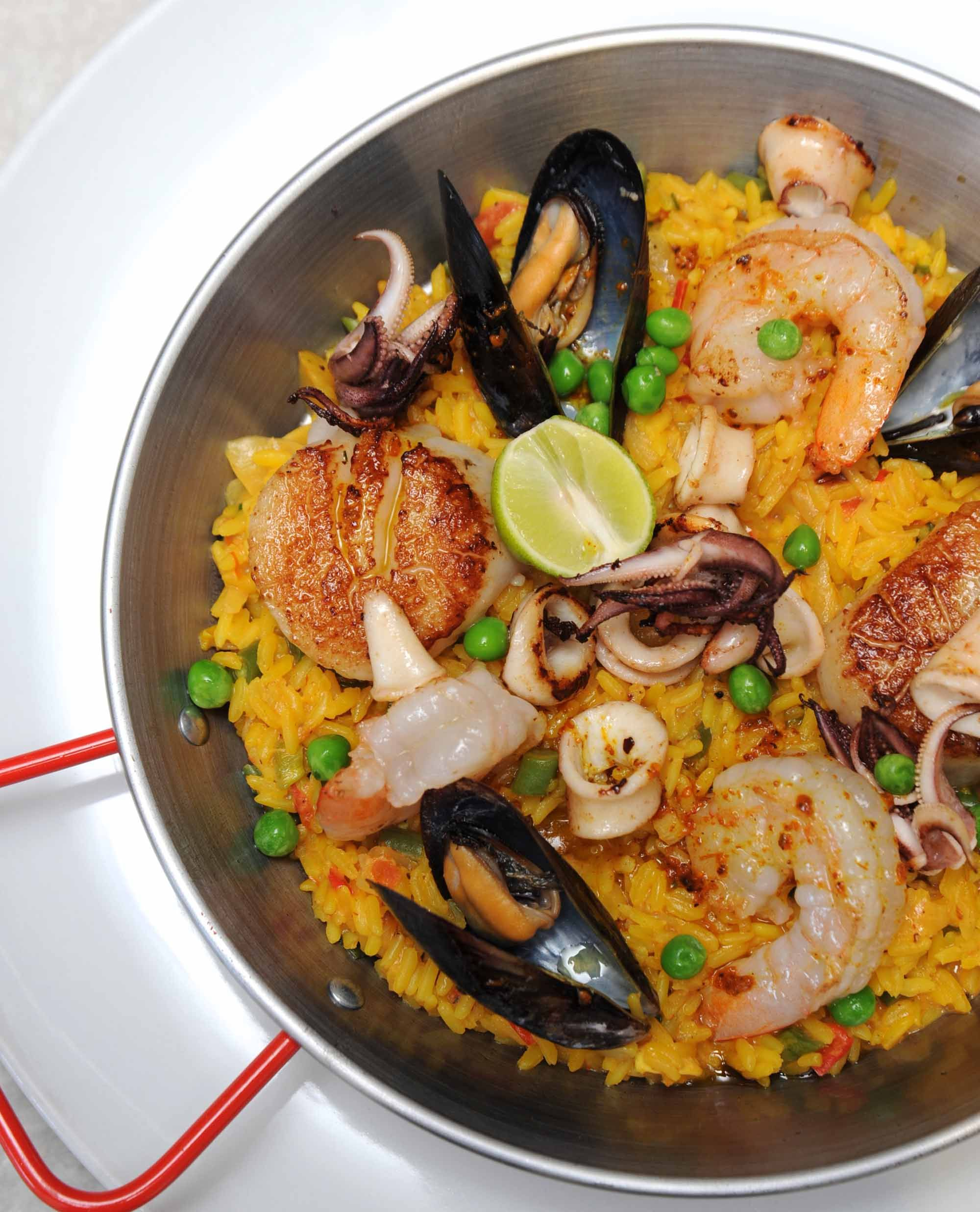 Fig & Olive, Paella del Mar