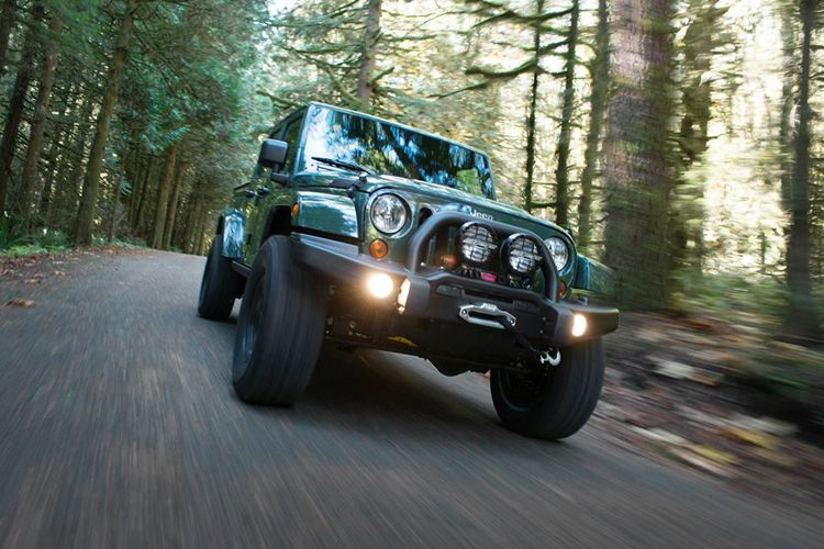 filson luxury jeep