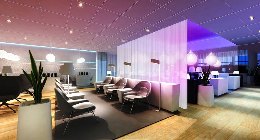 Finnair  premium lounge and sauna