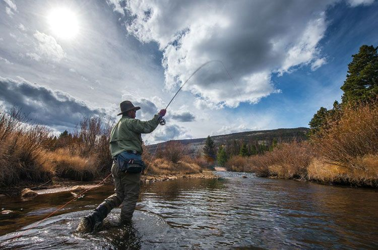 fly fishing from river to sea package