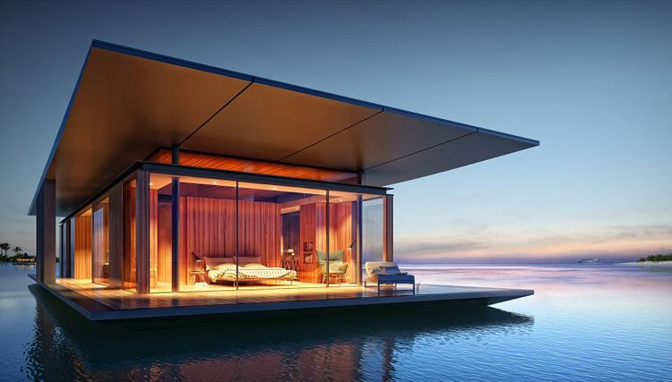 floating house Myitr Malcew H2ORIZON