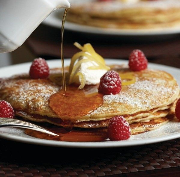 Four Seasons New York, pancakes, pancake recipe