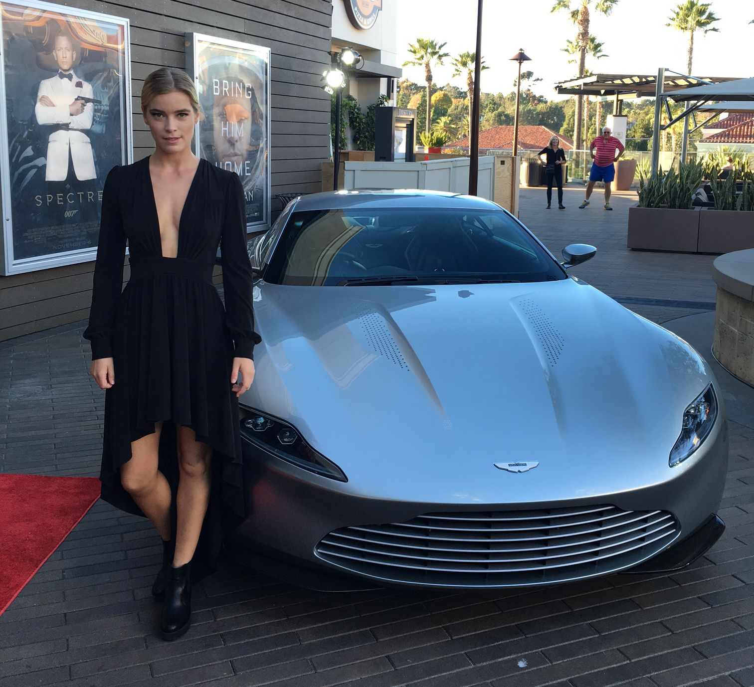 gemita samarra, spectre, james bond, aston martin db10