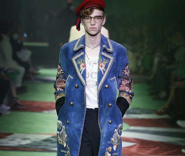Gucci Menswear Spring 2017