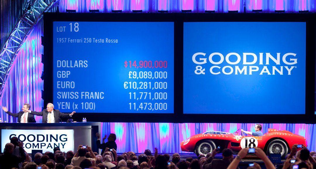 Gooding & Company Pebble Beach Concours d'Elegance Auction