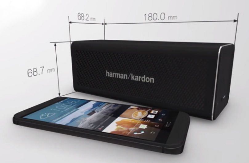 Harman Kardon One , HTC One, wireless speaker