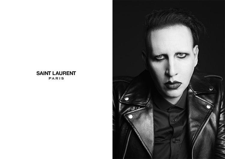 Manson for Saint Laurent