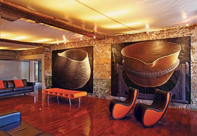 Hotel Lobby with Art