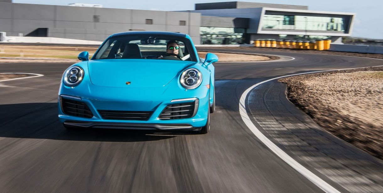 the porsche driving experience zooms into the golden state. Black Bedroom Furniture Sets. Home Design Ideas