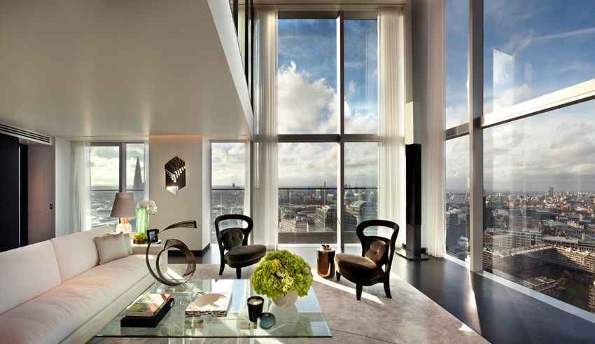heron penthouses london