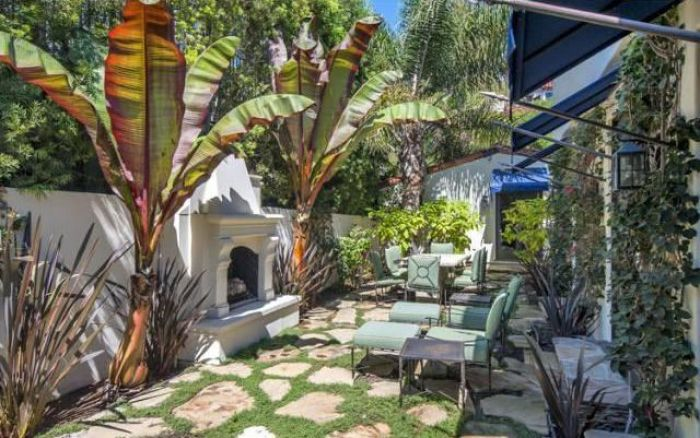 hilary swank los angeles home