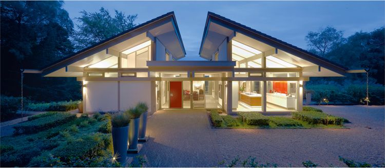 Custom eco friendly homes from huf haus its common to want a luxury home that stands out from the others on your street and for those that want that little something extra to make your neighbors malvernweather Choice Image
