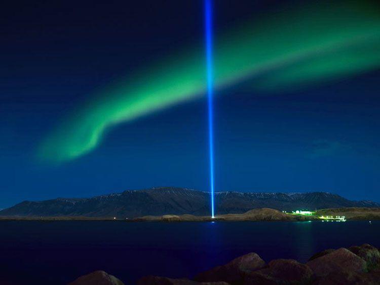 Reykjavik northern lights
