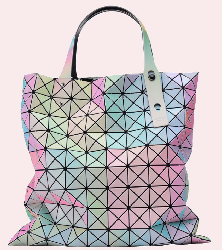 Issey Miyake S New Prism Tote Is A Kaleidoscope Of Pastel Colors 405780ea9f531