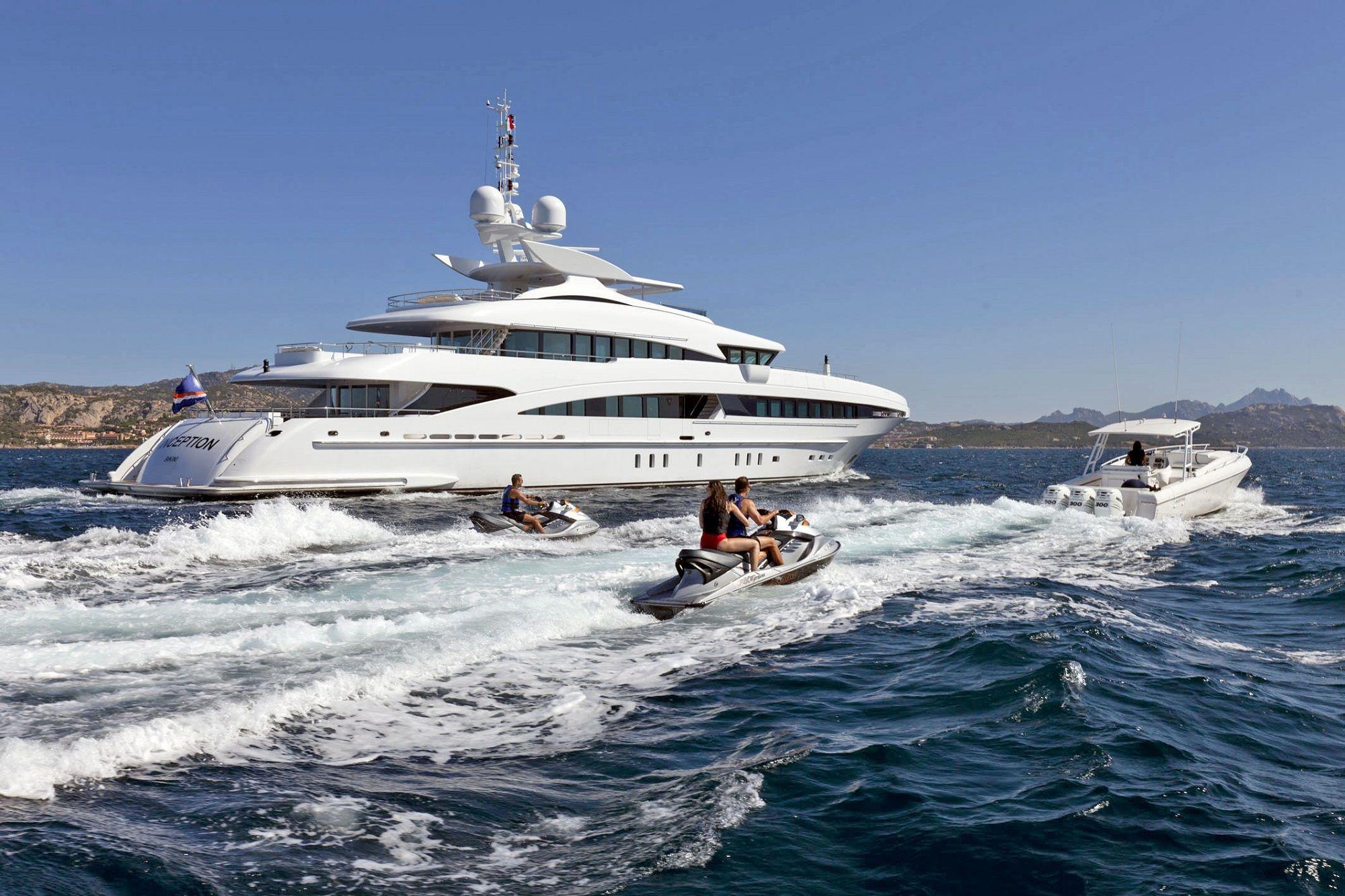 heesen yachts, inception, yacht charter