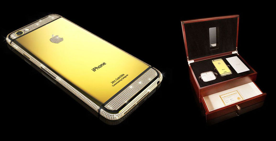 Goldgenie, Luxury Gold iPhone 6 Swarovski Brilliance Elite