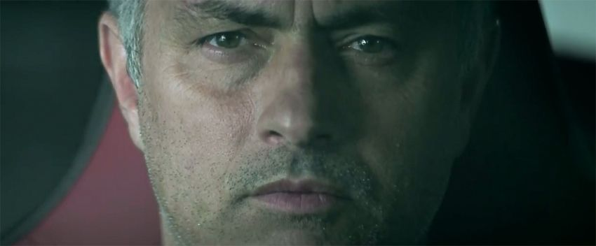 Jaguar,  Jos� Mourinho, F-TYPE R Coup�, microexpressions