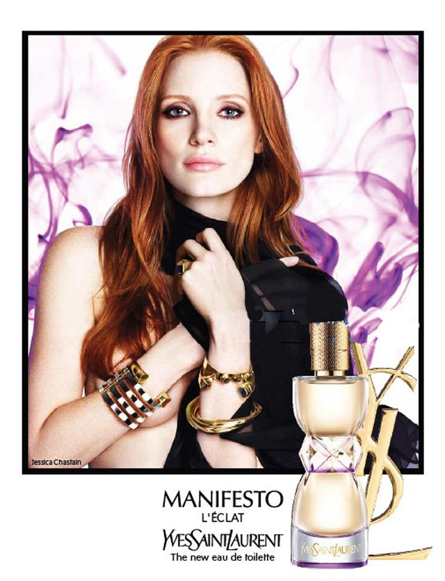Jessica Chastain Yves Saint Laurent