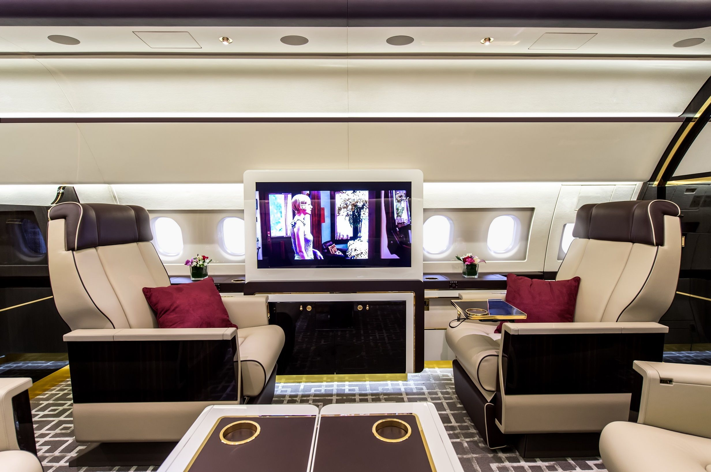 train on the inside private jet on the outside. Black Bedroom Furniture Sets. Home Design Ideas