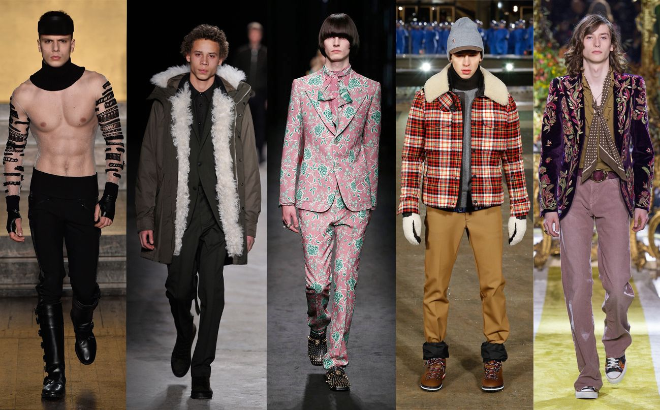 menswear on women's runway