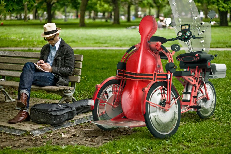 johanson3, trike, electric scooter