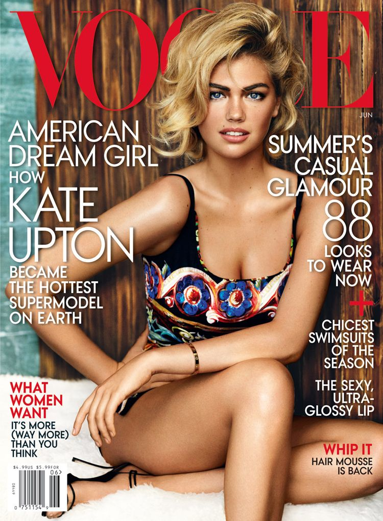 Is Kate Upton Paving the Way for More Plus Size Designer Fashion?