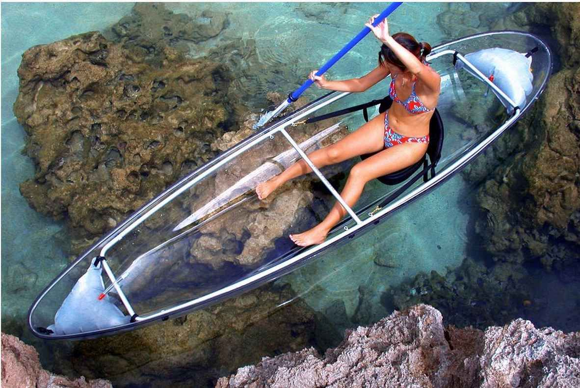 Clear Blue Hawaii, Molokini kayak