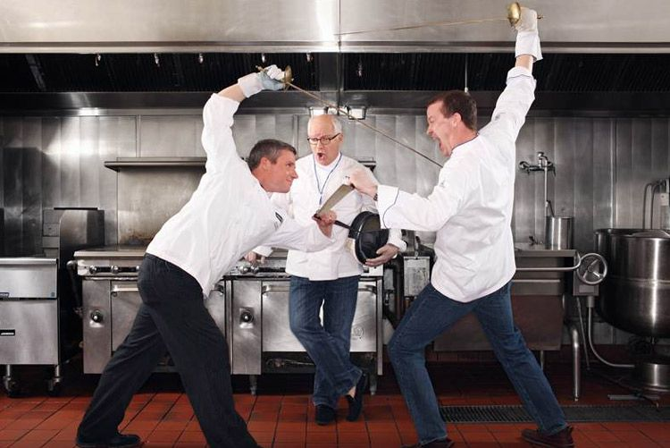 Behind the Apron�Dishing with Kimpton Chefs