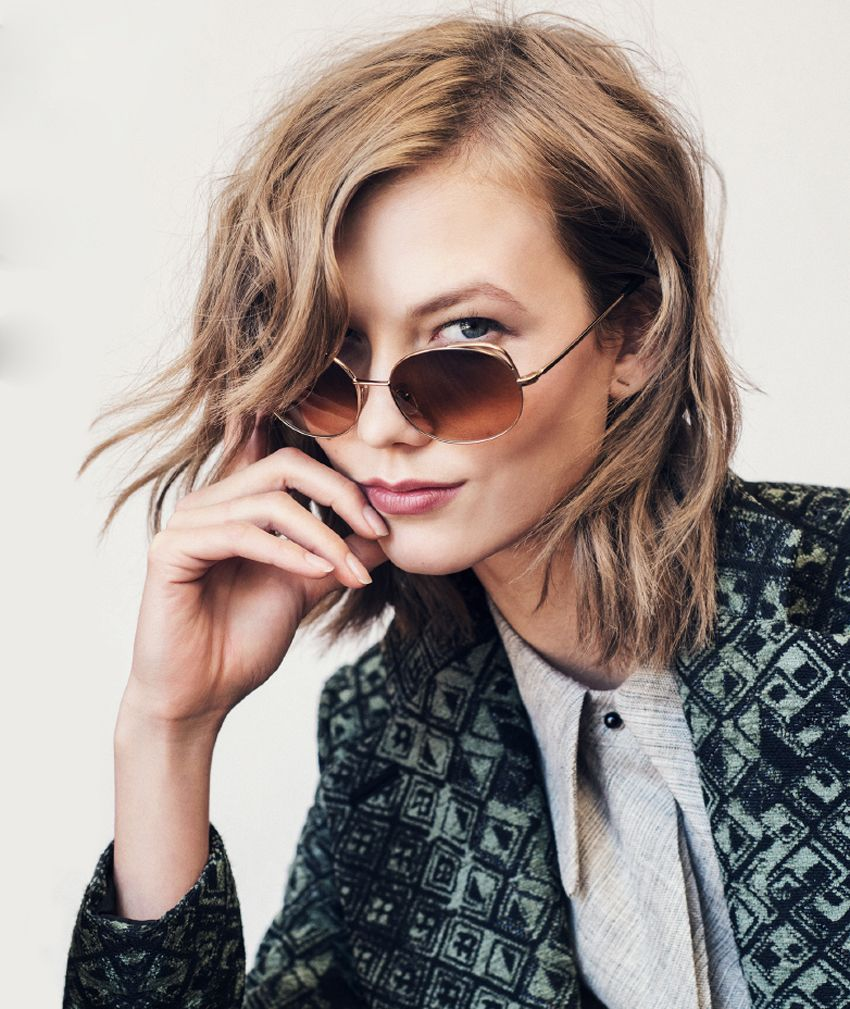 Karlie Kloss Warby Parker