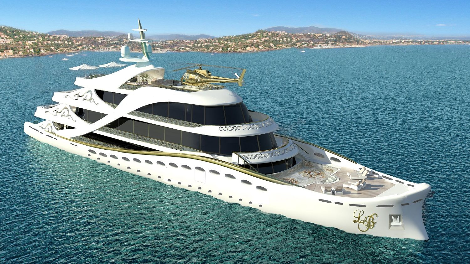 Lidia Bersani Luxury Design ,La Belle, yacht