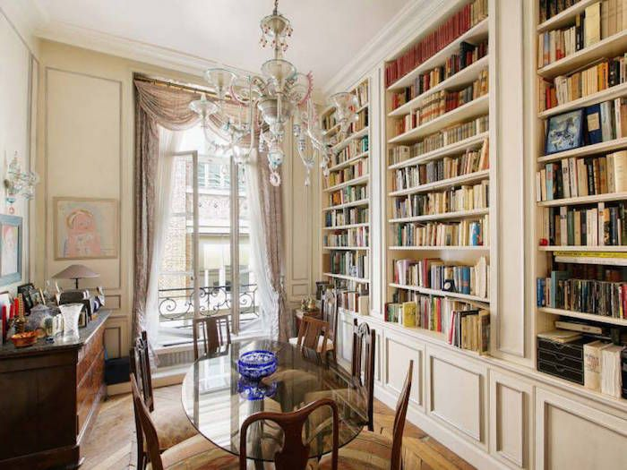 Atlantic City Hotels >> $2.1M Parisian Apartment Once Home to Famed French ...