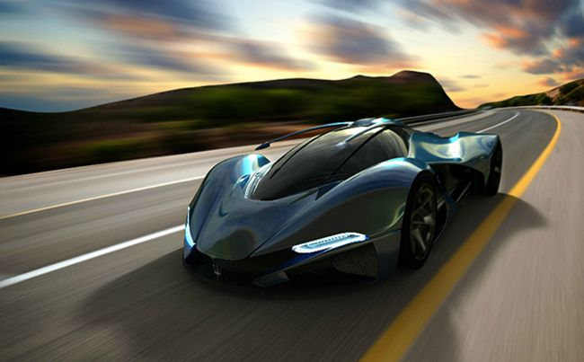 Lamaserati Concept Hyper Car Fit For Gotham City